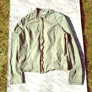 Sanctuary Surplus Army Green Jacket